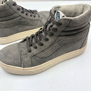 Vans Skater Shoes Gray Sz 7